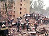 Apartment blast in 1999