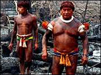 Archive picture of Indians in Mato Grosso do Sul