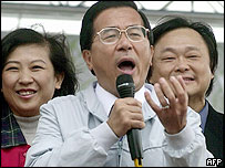 Taiwan's President, Chen Shui-bian