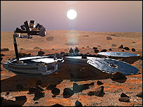 Beagle 2, image rights reserved by Beagle 2