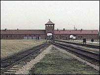 Auschwitz concentration camp in Poland