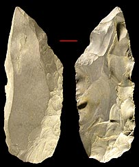 Stone tools, Pitulko