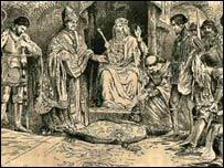 Owain Glyndwr's coronation