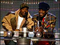 OutKast's Big Boi (left) and Andre 3000