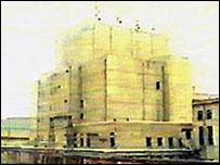 مفاعل يونجبايون في كوريا الشمالية