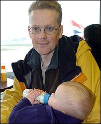 William Mallett y su hijo, Jack