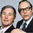 Comedians Morecambe and Wise