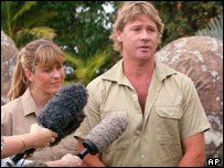 Steve and Terry Irwin