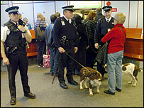 Police at Heathrow