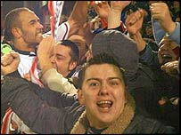 Telford fans show their passion