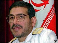 Iranian Defence Minister Ali Shamkhani (file photo)