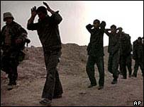 File photo of Iraqi prisoners of war
