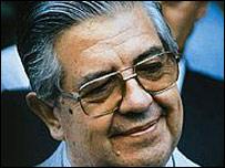 El general Manuel Contreras.