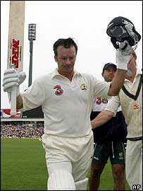 Waugh made 80 in his last Test innings