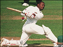 Brian Lara, born in Trinidad and Tobago