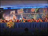 Indian Science Congress, BBC