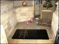 Tumba en la Abadía de Westminster