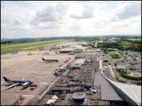 'Nottingham' East Midlands Airport