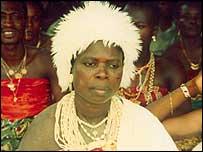 Voodoo priestess from Ouidah