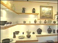 Bernard Leach pottery exhibition