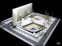 Arad's design (architectural illustration)