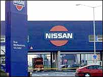 Nissan car plant Sunderland