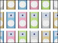 Gallery of mini iPods, Apple