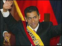 Lucio Gutiérrez, presidente de Ecuador