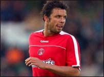 Mark Fish of South Africa and Charlton Athletic