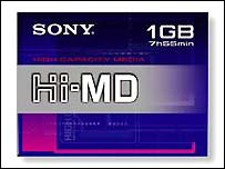 Sony's Hi-MD disc