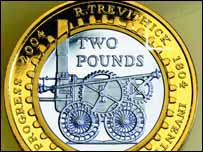 The Trevithick �2 coin