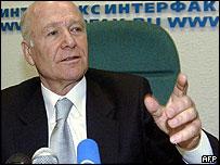 Ajarian leader Aslan Abashidze