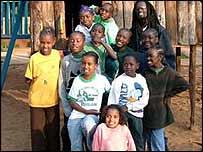 Orphans at Nyumbani