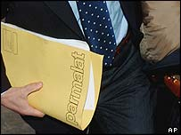 Prosecutor carrying Parmalat file
