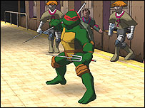Screenshot of Teenage Mutant Ninja Turtles