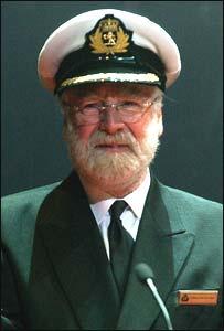 Commodore Ron Warwick