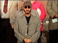 Libyan forward Saadi Gaddafi
