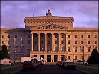 The Stormont executive is currently suspended