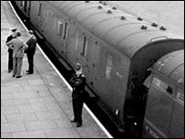 The train targeted in the Great Train Robbery