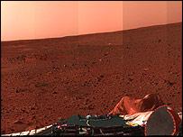панорама Марса, НАСА