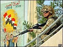 US soldier in Tikrit