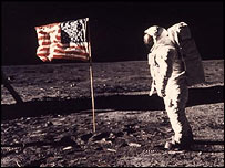 Aldrin on the Moon, Nasa