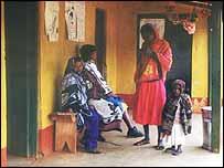 Tanzanian clinic