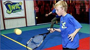 There are loads of opportunities to play tennis