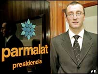 Giovanni Bonici, head of Parmalat Venezuela