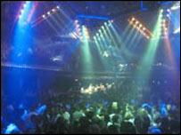Discoteca en Londres