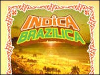 Portada del CD Indica Brazilica de Outcaste Records, una noche popular en el Notting Hill Arts Club