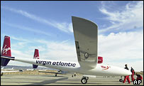 Virgin GlobalFlyer, AP