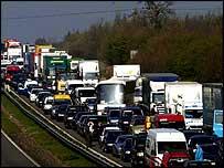 Traffic jam   PA