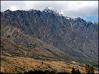Mountains near Queenstown, New Zealand